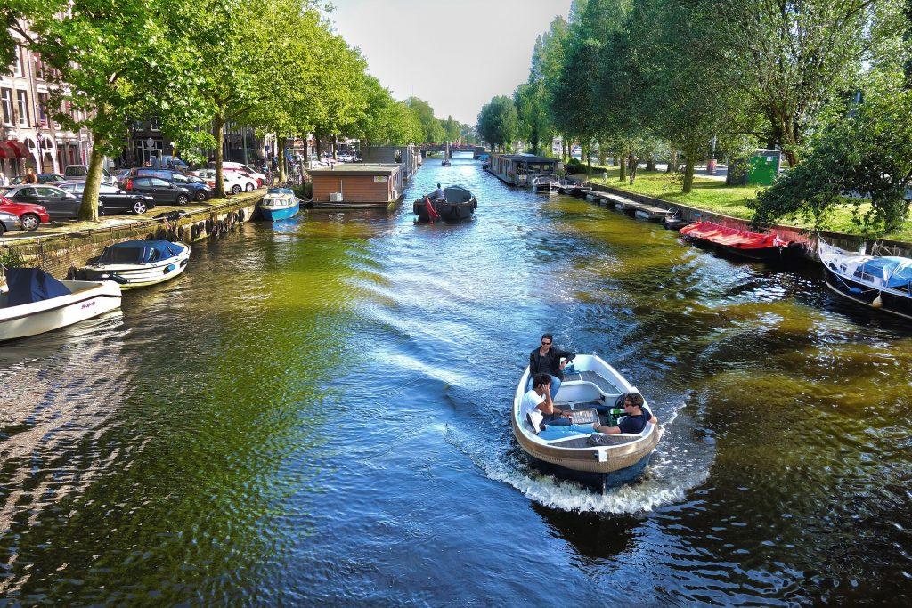 Amsterdam - rzeka